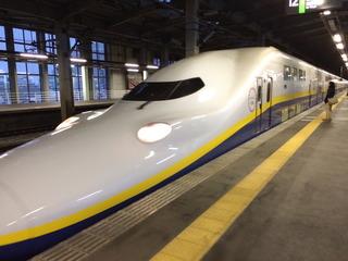 長岡から乗車