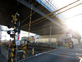 20130112酒匂川2号橋小田急側