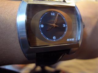 NHK腕時計