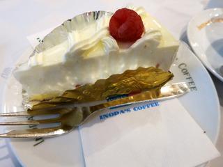 レアチーズケーキ@イノダコーヒー