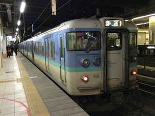 長野発直江津行き