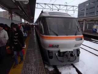 富山に到着