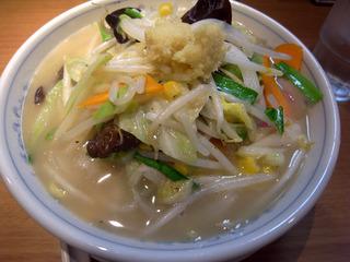 野菜いっぱいタンメン