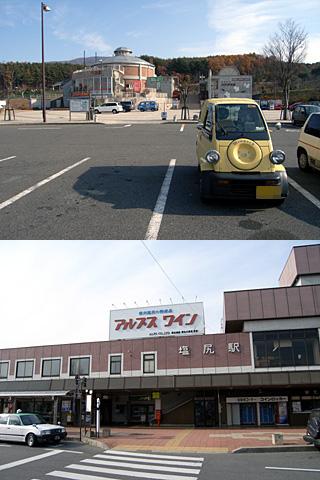 寄り道(行き)
