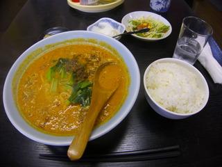 坦々麺セットランチ