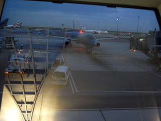飛行機登場