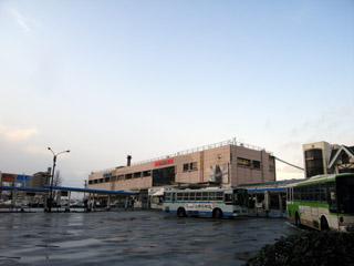 富山駅(南口から)