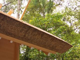 新築の屋根