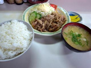 焼肉定食@万福-1