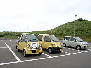 神威岬にて2