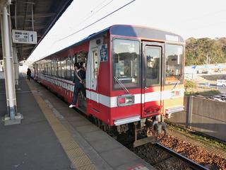 ガルパン電車到着