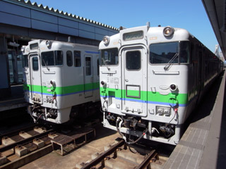 キハ40@帯広駅
