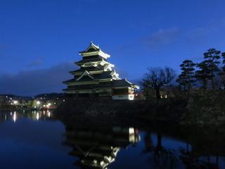 松本城まで