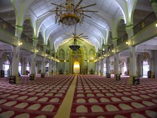 スルタンモスク内部