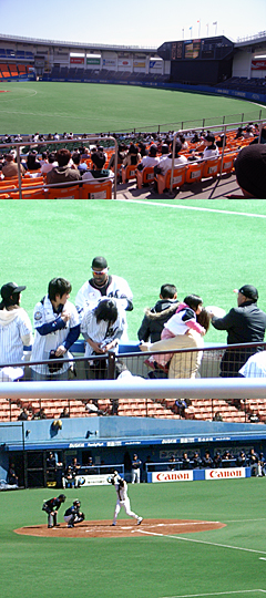 ロッテ×オリックス戦20070314