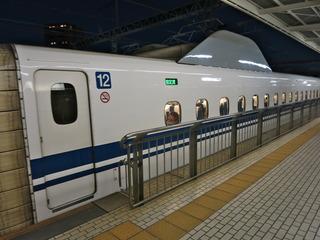 始発の新幹線は指定席