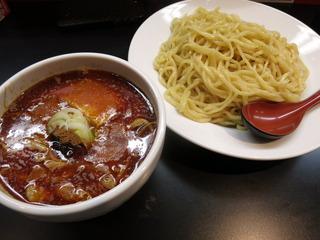 つけ麺(普通に辛い)