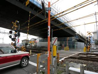20130106酒匂川2号橋小田急側