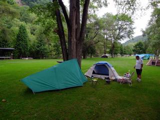 本別にてキャンプ