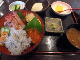 海鮮漁師丼定食@エボシ
