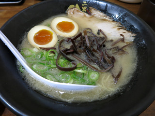 ラーメン(味玉)次男坊