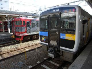 E200としなの鉄道