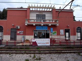 ポンペイスカヴィ駅