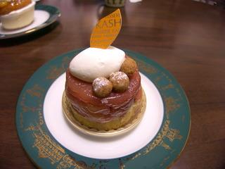 樫の木ケーキ