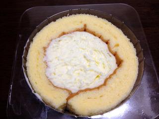 ソフトクリーム味のクリーム