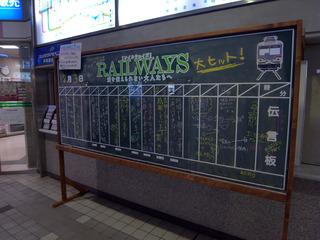 RAILWAYS伝言板