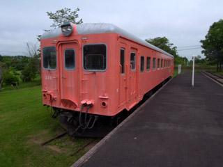 別海町鉄道記念館キハ