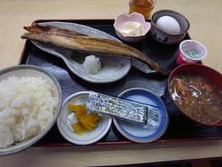 朝定食@たびじ