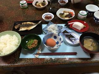 鈴伝荘朝食