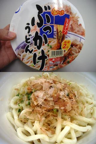ぶっかけうどん@金ちゃん徳島製粉