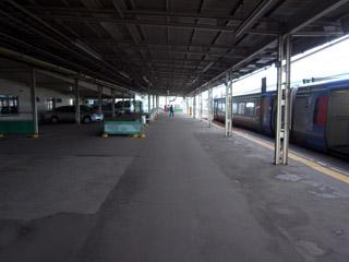 釧路駅ホーム