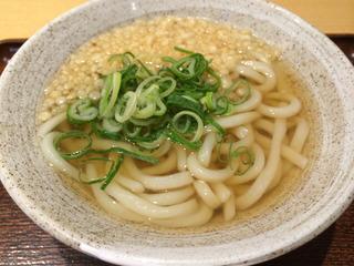朝うどんは200円@麺ざんまい