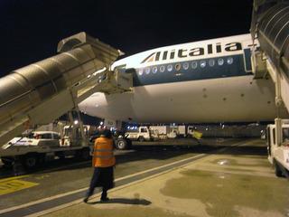 ローマに到着