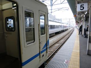 富山駅から出発