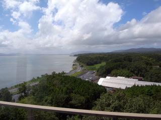展望台から宍道湖を望む
