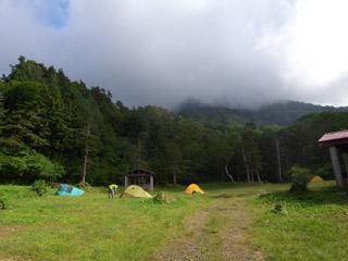 蓮華温泉キャンプ場
