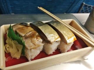 鯖寿司@京樽