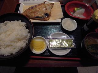 焼き魚定食@魚っ喰いの田