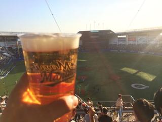 暑いぜビール