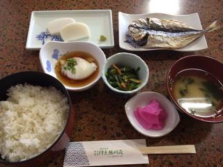 朝食@熱川荘