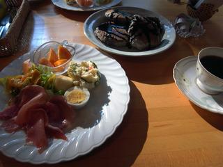 朝食二日目