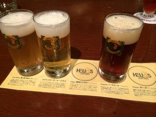 ビールの利酒
