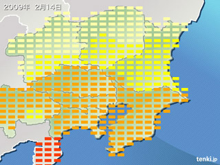 南関東浸食中