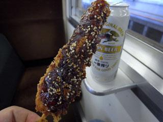 串カツ&ビール