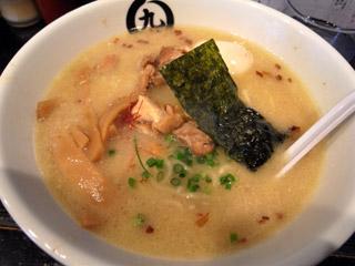 鶏塩ラーメン@まるきゅう
