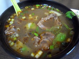 辛い牛肉麺